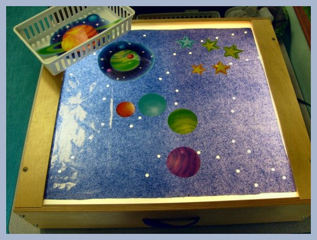 Space Light Table